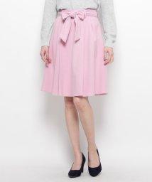 INDEX/サキソニーリボン付スカート/500042321