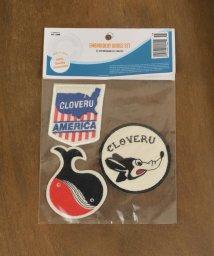 SHIPS KIDS/Cloveru:ワッペン セット【SHIPS別注】/500071236