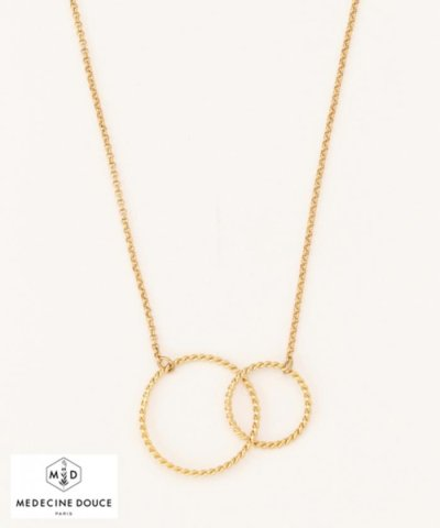 【MEDECINE DOUSE】WCircle Necklace ネックレス