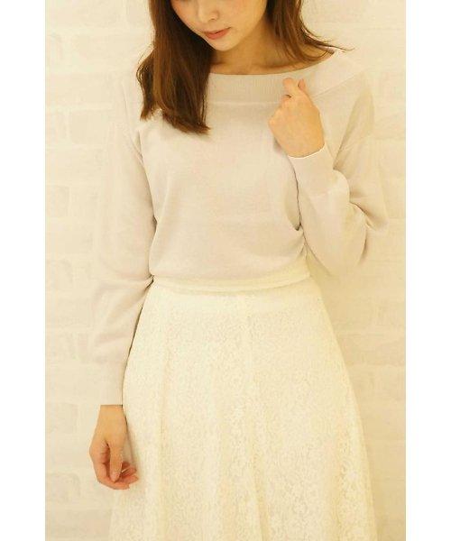PROPORTION BODY DRESSING(プロポーション ボディドレッシング)/ドルマンニット/1217170100