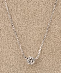 DECOUVERTE/18KWG 0.1ct ダイヤモンド ネックレス H&C/500093823