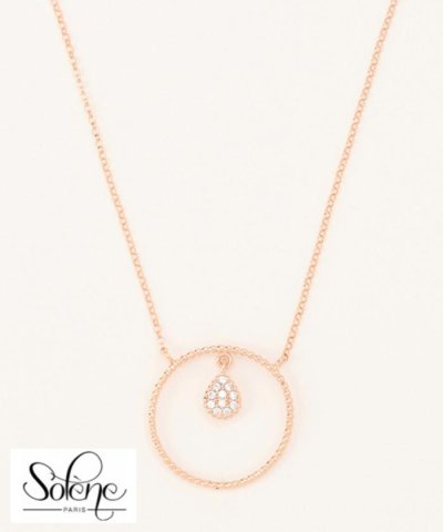 【SOLENE】TearDrop Necklace ネックレス