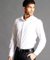 MONSIEUR NICOLE/セミワイドカラードレスシャツ/500100851