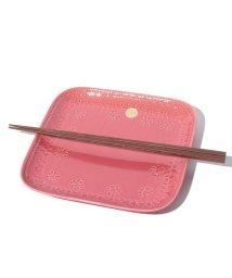 Afternoon Tea LIVING/CQ65 角皿・取り箸セット/SAKUZAN×Afternoon Tea/500086663