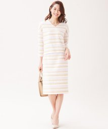 NIJYUSANKU/【セットアップ対応】TOURNIERファンシーツイード スカート/500112350
