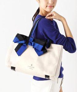 全品送料無料!<マガシーク>【LANVIN en Bleu(BAG)(ランバンオンブルー(バッグ))】マリアンヌ リボントートバッグ