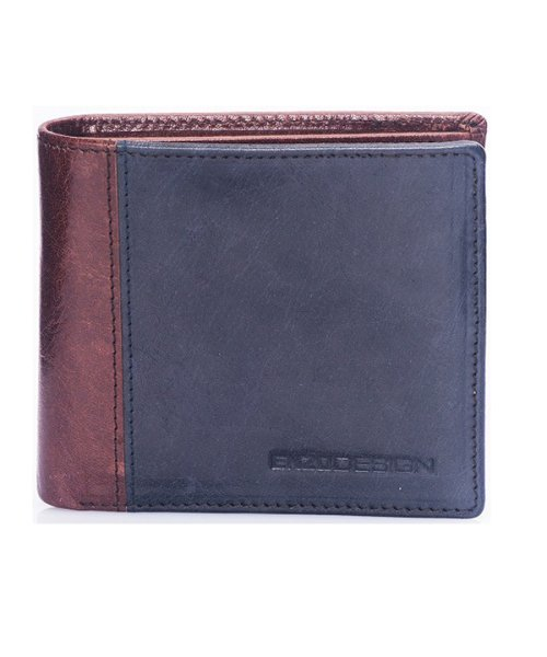 ADC(ADC)/ENZODESIGN アニリンバッファローレザー純札二つ折り財布/6B955
