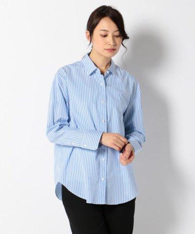 【JIYU-KU(自由区)】【Timeless★】Free Style Shirt ストライプ2WAYシャツ