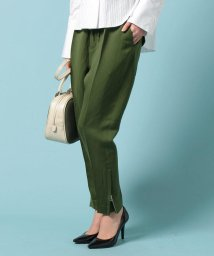 beautiful people/thick voile satin drawstrings pants/500112120