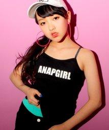 ANAP GiRL/パッド入ロゴキャミソール/500118429