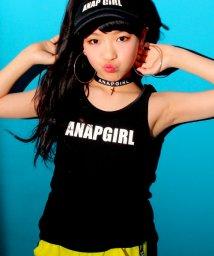 ANAP GiRL/パッド入ロゴタンクトップ/500118430