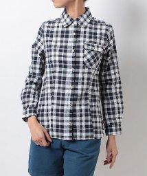 Alpine DESIGN/アルパインデザイン/レディス/長袖チェックシャツ/500139362