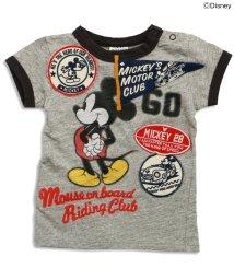 BREEZE / JUNK STORE/Disney(ディズニー) ミッキーリンガーTシャツ/500149773