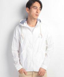 JNSJNM/【BLUE STANDARD】綿麻ドビーシャツパーカー/500126909