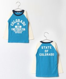 crocs(KIDS WEAR)/袖切替ロゴプリントロングTシャツ/500140967