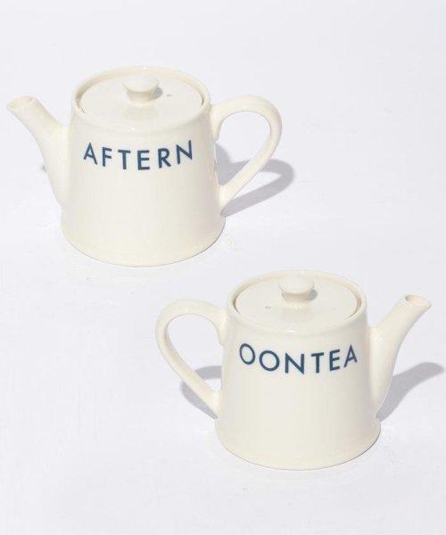 Afternoon Tea LIVING(アフタヌーンティー・リビング)/EF19 ロゴティーポット/EF1944785
