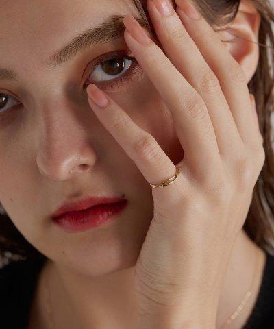 【jupiter(ジュピター)】flowing ribbonリング(ピンキー)
