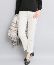URBAN RESEARCH ROSSO/Munich white denim slouch pants/500178706
