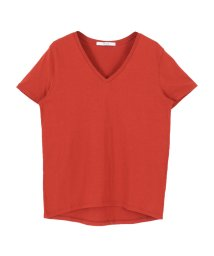 titivate/オーガニックコットンVネックTシャツ/organic/500180769