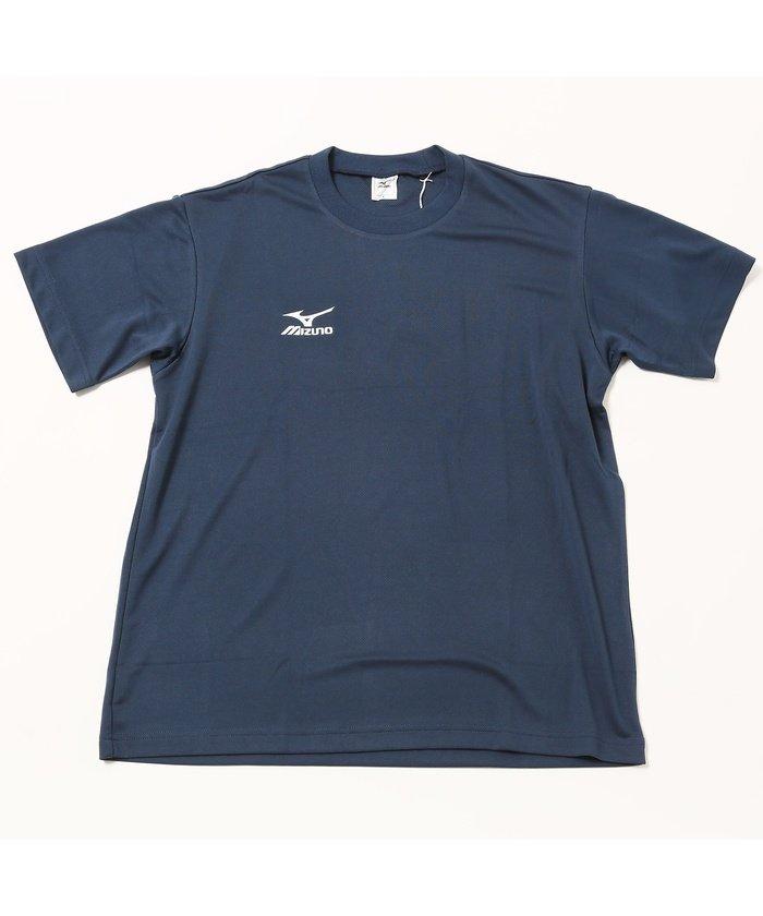 ミズノ/メンズ/TシャツUネック(NAVIドライ/MEN'S)