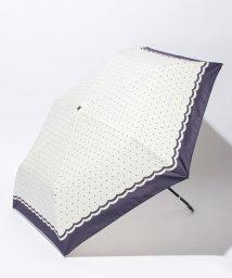 Afternoon Tea LIVING/EJ68 ドット柄折りたたみ傘(雨傘)/500159541