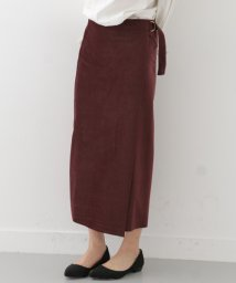 URBAN RESEARCH/【WAREHOUSE】ベルト付きラップミディスカート/500182507