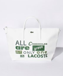 LACOSTE/『WEB 限定』 L.12.12 プリントトートバッグ/500191950
