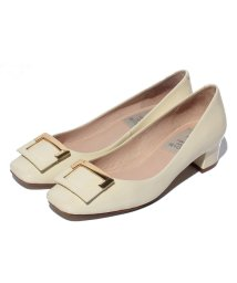 INTER-CHAUSSURES IMPORT/【ABOVE AND BEYOND】スクエアートウオーナメントパンプス/500200028