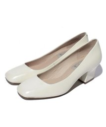 INTER-CHAUSSURES IMPORT/【ABOVE AND BEYOND】スクエアートウミドルヒールパンプス/500200037