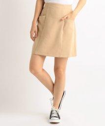 Ray Cassin /二重織り台形スカート/500212267