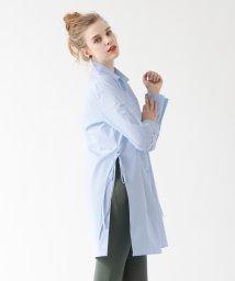 titivate/サイドリボンロングシャツ/500196380
