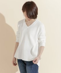 URBAN RESEARCH DOORS/FORK&SPOON Waffle Thermal V-neck/500224824