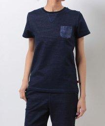 Alpine DESIGN/アルパインデザイン/レディス/胸ポケットTシャツ デニム/500226112