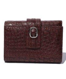 gino marina luxe/クロコダイル財布/500203484