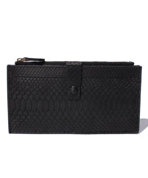 gino marina luxe(ジーノマリーナリュクス)/パイソン財布/913582