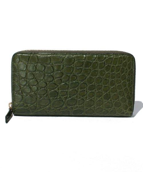 gino marina luxe(ジーノマリーナリュクス)/クロコダイル財布/M86651