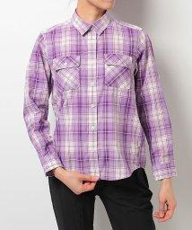 Alpine DESIGN/アルパインデザイン/レディス/長袖チェックシャツ/500238295