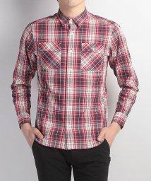 Alpine DESIGN/アルパインデザイン/メンズ/長袖チェックシャツ/500240621