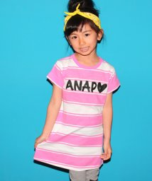 ANAP KIDS/ボーダーワンピース/500225192
