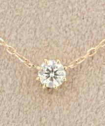 DECOUVERTE/18KYG 0.2ct ダイヤモンド ネックレス H&C/500255345
