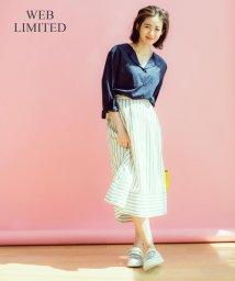 JIYU-KU /【2017初夏のWEB限定・洗える】Tencel Paddy ロングスカート/500257507