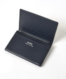 SHIPS MEN/SD: 【SAFFIANO LEATHER】 カードケース (名刺入れ)/500259043
