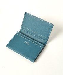 SHIPS MEN/SD: 【SAFFIANO LEATHER】 カードケース (名刺入れ)/500259043