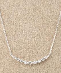 DECOUVERTE/18KWG 0.1ct ダイヤモンド ネックレス/500264780