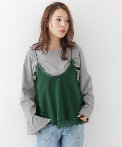 URBAN RESEARCH OUTLET(アーバンリサーチ アウトレット)/【WAREHOUSE】レースレースキャミ/WH7423N016