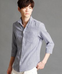 NICOLE CLUB FOR MEN/7分袖イタリアンカラーシャツ/500249893