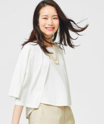 JIYU-KU /【WEB限定・洗える】レーシージャガード ニット/500277314
