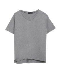 Re:EDIT/VネックベーシックTシャツ/500273732