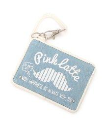 PINK-latte/マスタッシュプリントパスケース/500280452