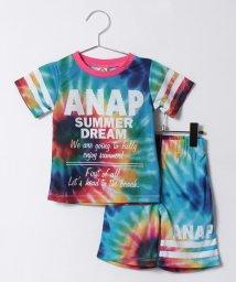 ANAP KIDS/タイダイ風プリントSETUP/500270025